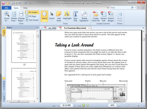 nitro pdf converter  software